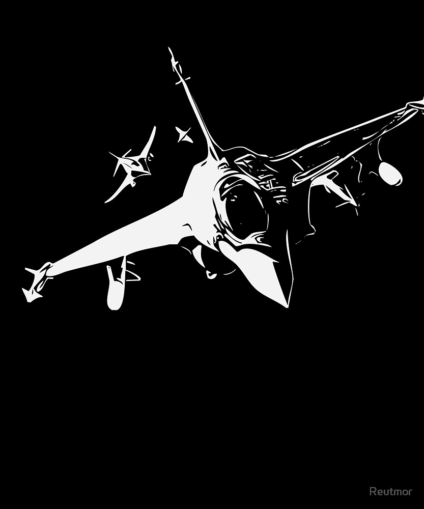 Fighter Airplanes Dogfight  - Cool Aeroplane  by Reutmor