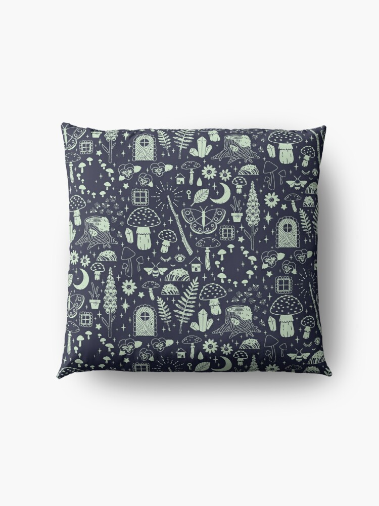 Alternate view of Fairy Garden: Midnight Floor Pillow