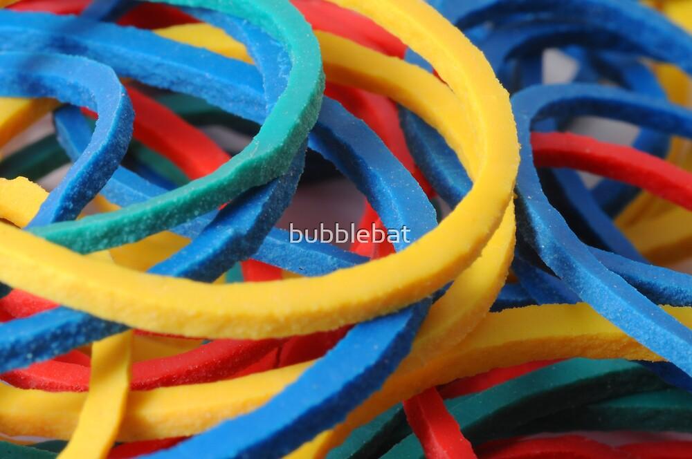 Rubber Bands by bubblebat