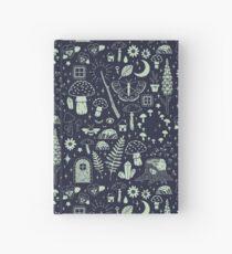 Cuaderno de tapa dura Fairy Garden: medianoche