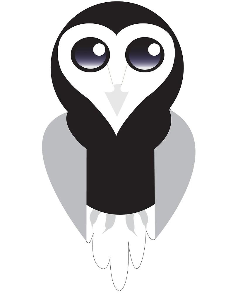 Heart Owl by Animator-Tana11