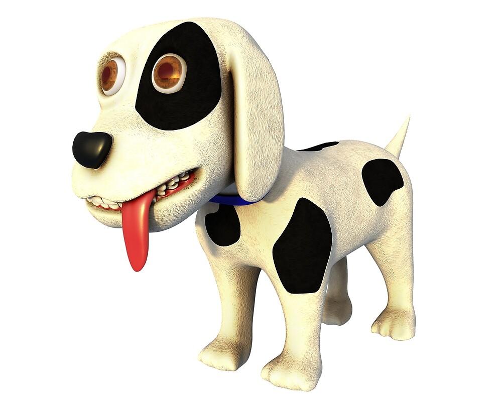 Cartoon Dog by Marc  Mons