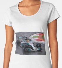 Lewis Hamilton  Women's Premium T-Shirt