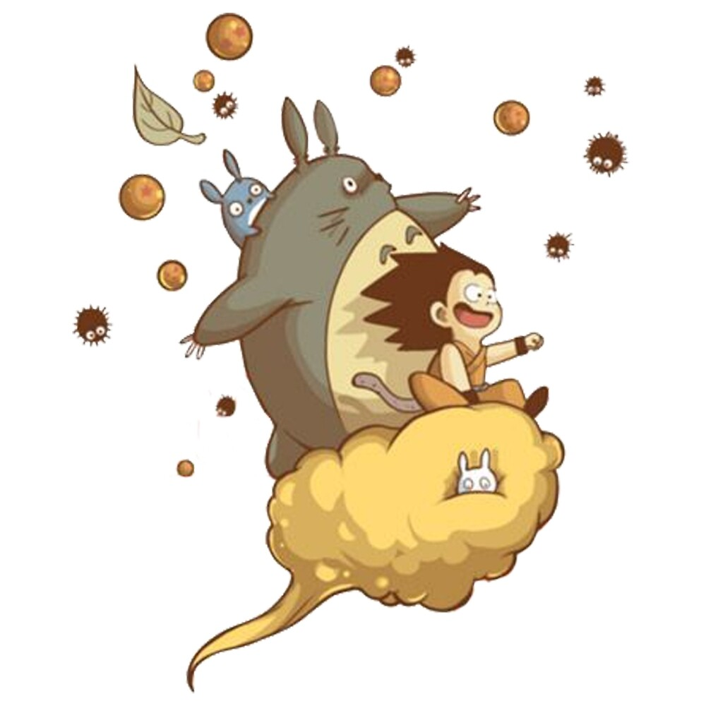 Totoro - Dragon Ball by ECHOS7
