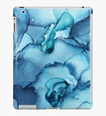 The Blue Abyss - Alcohol Ink Painting iPad Case/Skin