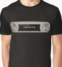 Toyota FJ40 Land Cruiser Bezel Graphic T-Shirt