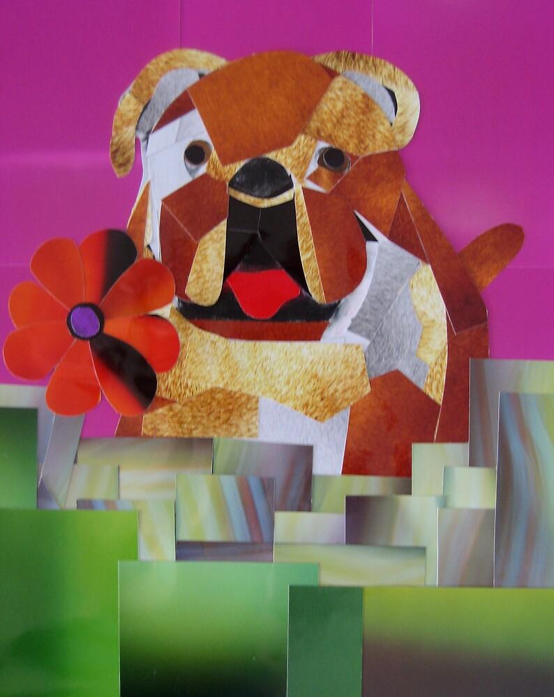 Dog Portrait- Bulldog by galberto