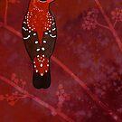Red Avadavat (Amandava amandava) by Joumana Medlej