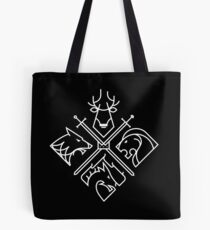 Game of Thrones Houses Tote Bag