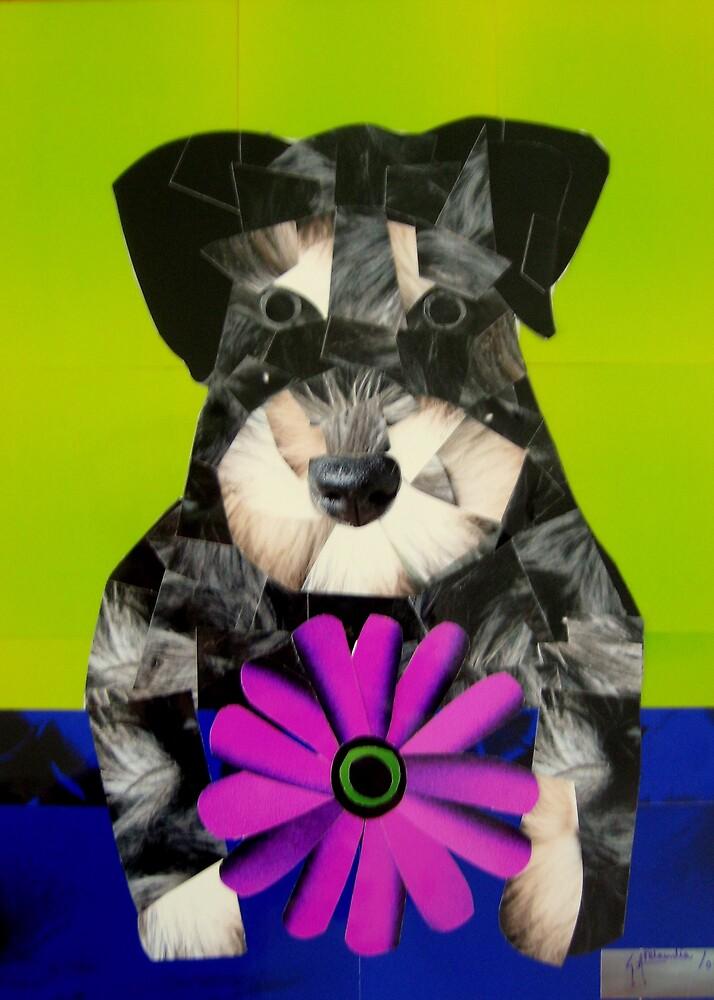 Dog Portrait- Schnauzer by galberto