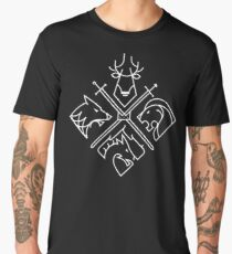 Game of Thrones Houses Men's Premium T-Shirt