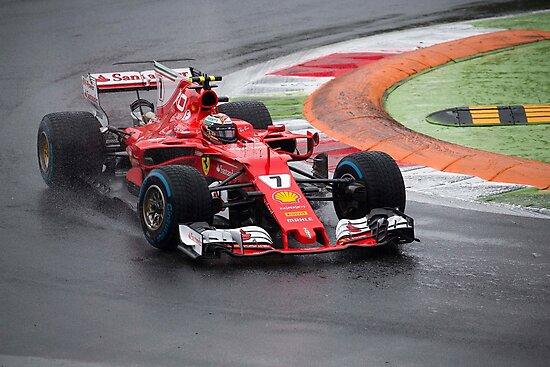 Kimi Raikkonen Ferrari  by SpeedKing