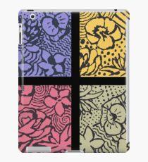 Flower Stencils iPad Case/Skin