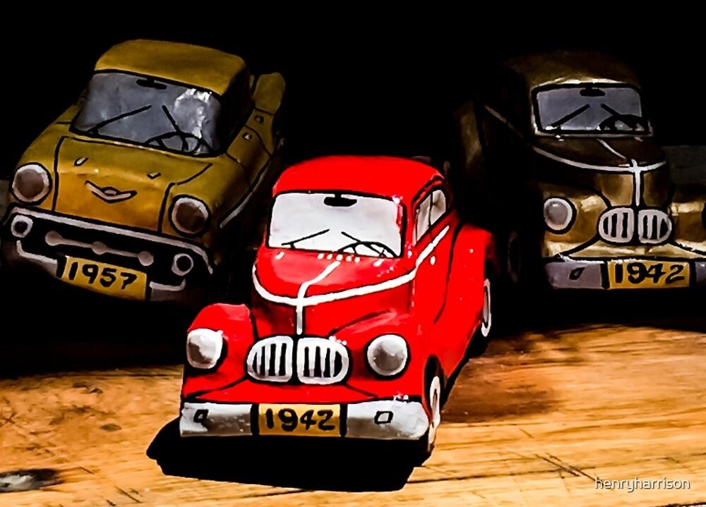 Cuba American Tin cars by henryharrison