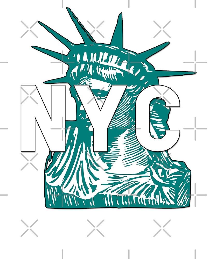 Statue of Liberty by Dream Imagine Create .