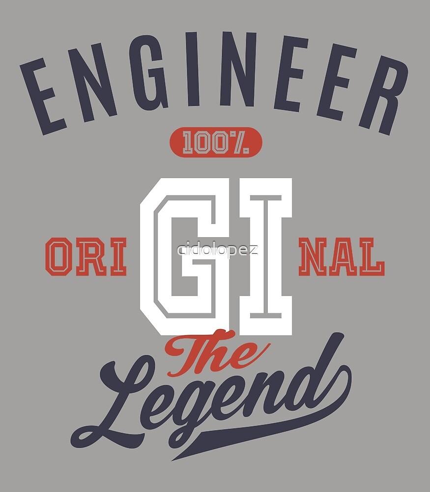 Engineer Original by cidolopez