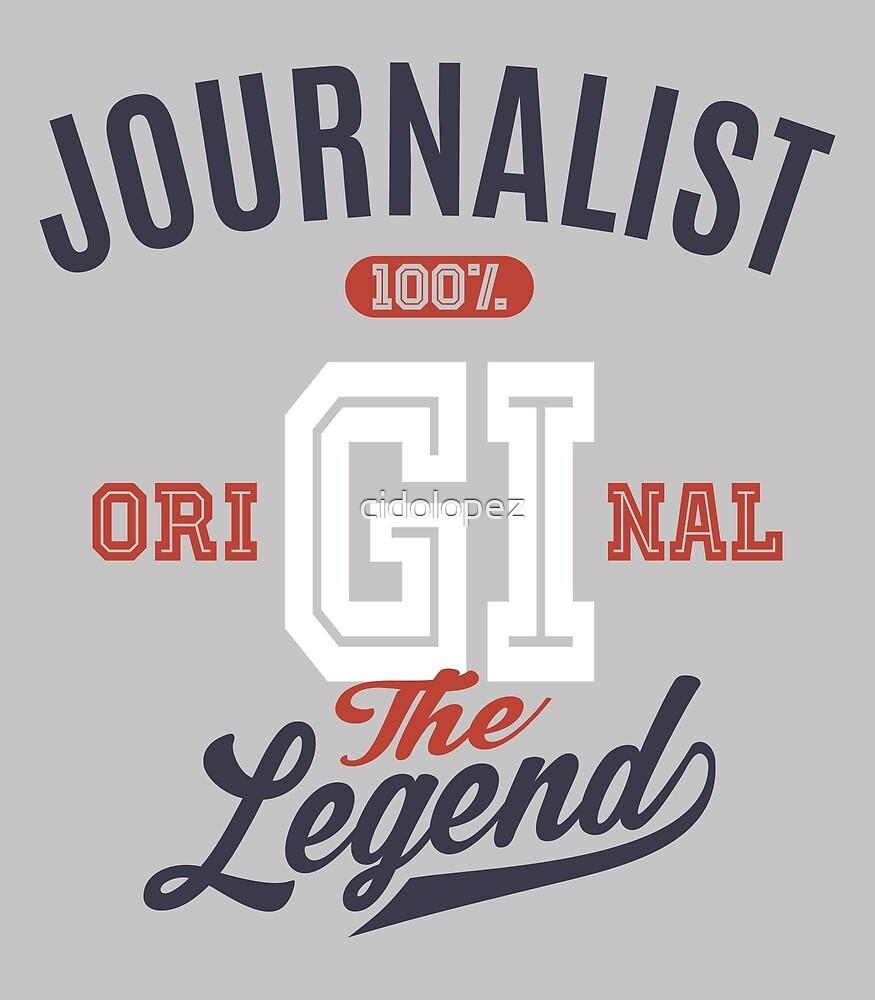 Journalist Original by cidolopez