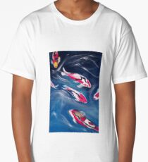 Koi In Motion Long T-Shirt