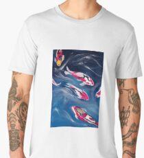 Koi In Motion Men's Premium T-Shirt