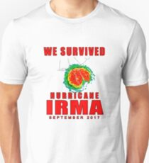 We Survived Hurricane Irma 2017 Slim Fit T-Shirt