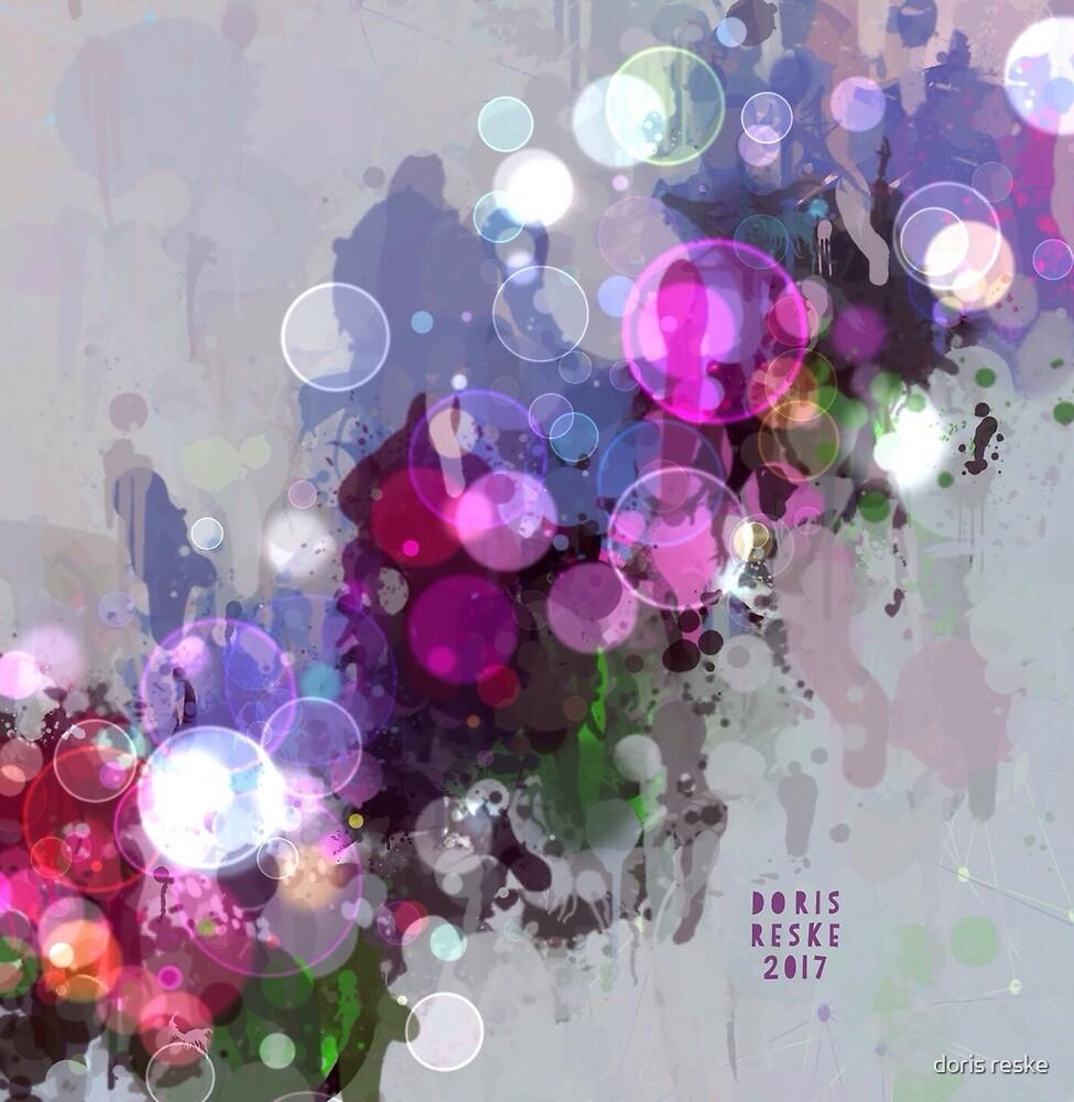 flower bubbles by doris reske