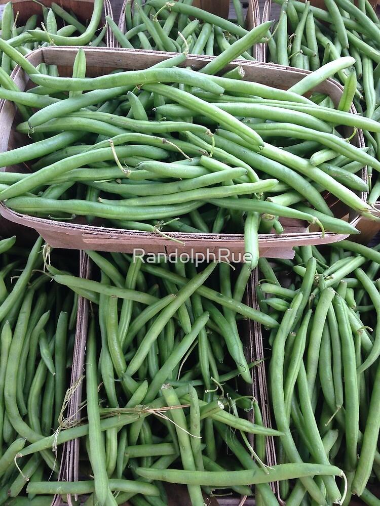 Baskets of Green Beans by RandolphRue