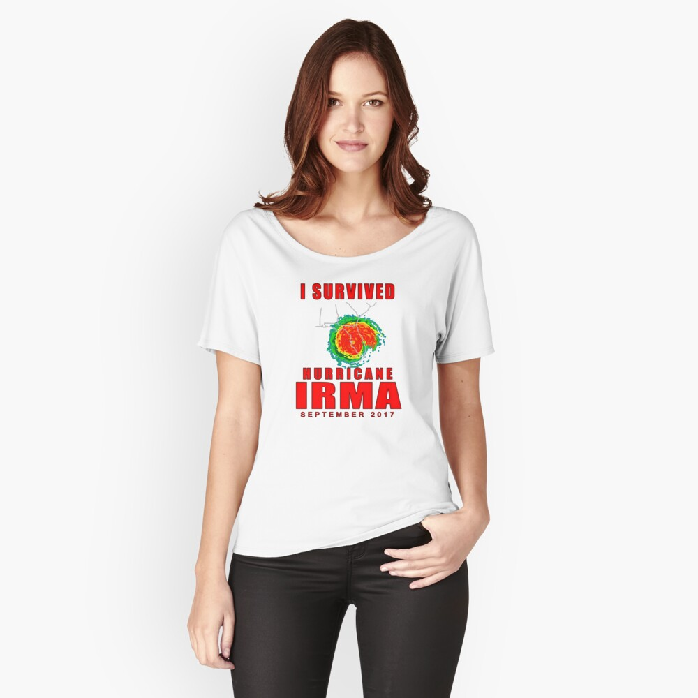 I Survived Hurricane Irma Relaxed Fit T-Shirt