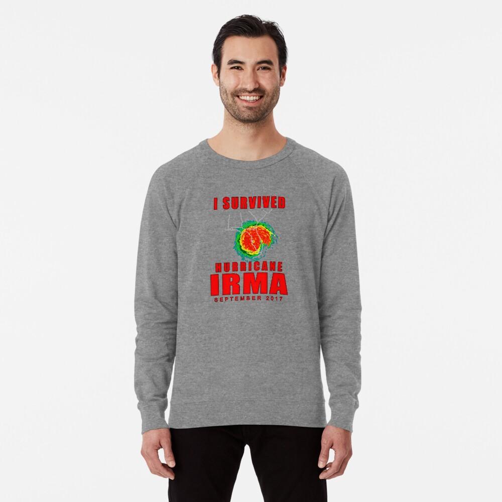 I Survived Hurricane Irma Lightweight Sweatshirt