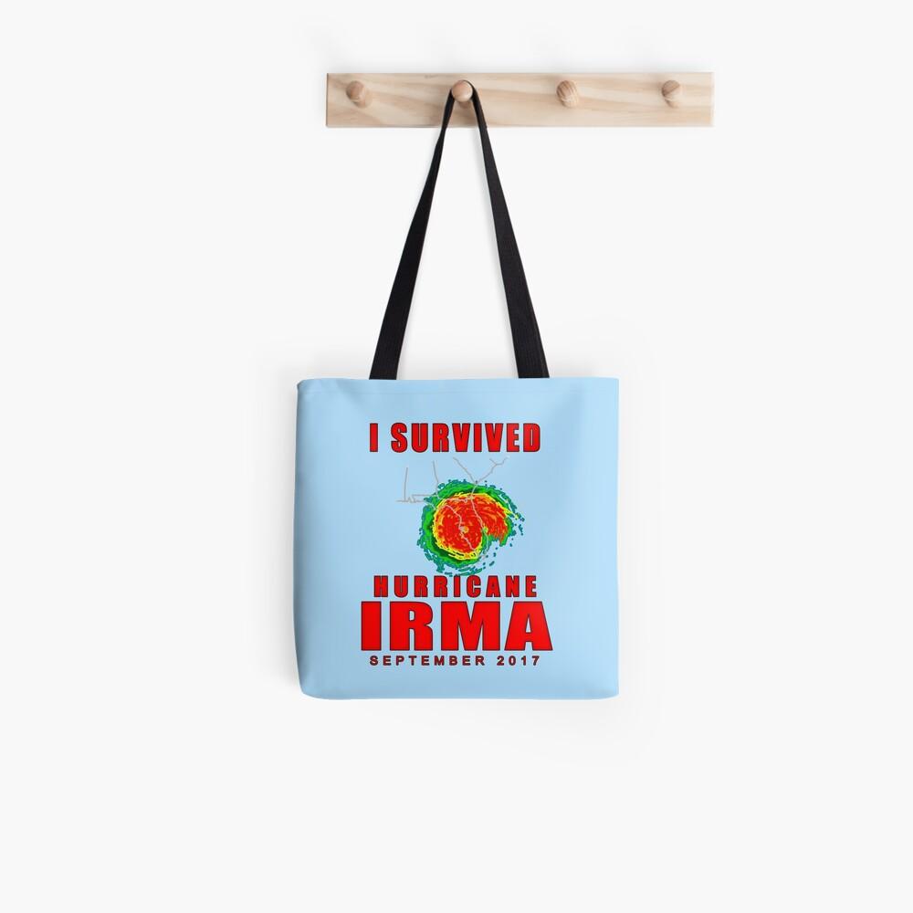 I Survived Hurricane Irma Tote Bag