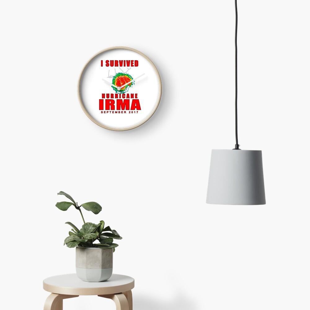 I Survived Hurricane Irma Clock