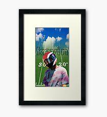 Kevin Abstract American Boyfriend Brockhampton Framed Print