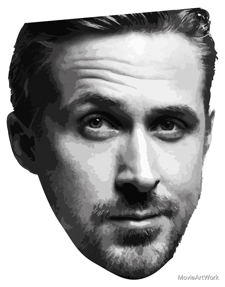 Ryan Gosling by MovieArtWork