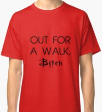 Out for a walk Classic T-Shirt