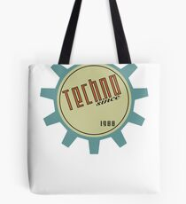 Techno since 1988 Tote Bag