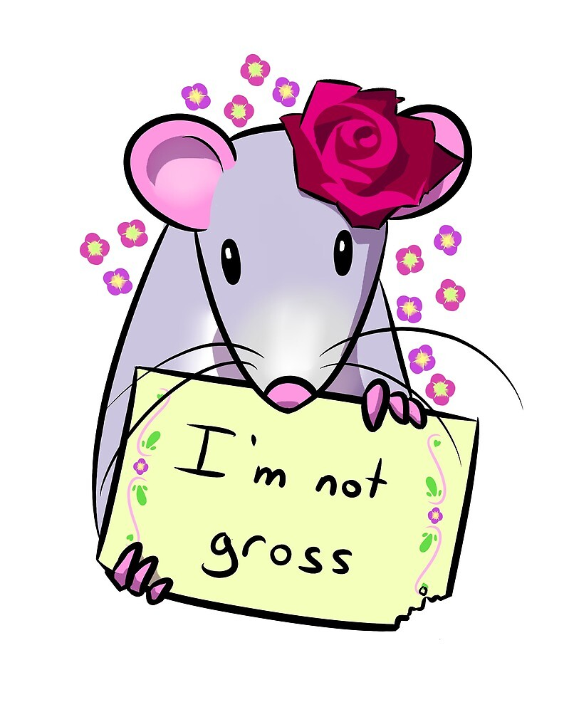 Rats Aren't Gross by artofbird