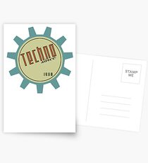 Techno since 1988 Postcards