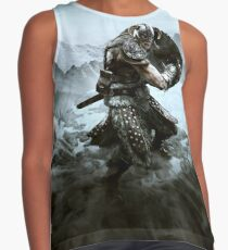 TES: Skyrim - Dragonborn Charging - Contrast Tank Top/Phone Case/Pillow/And More! Contrast Tank