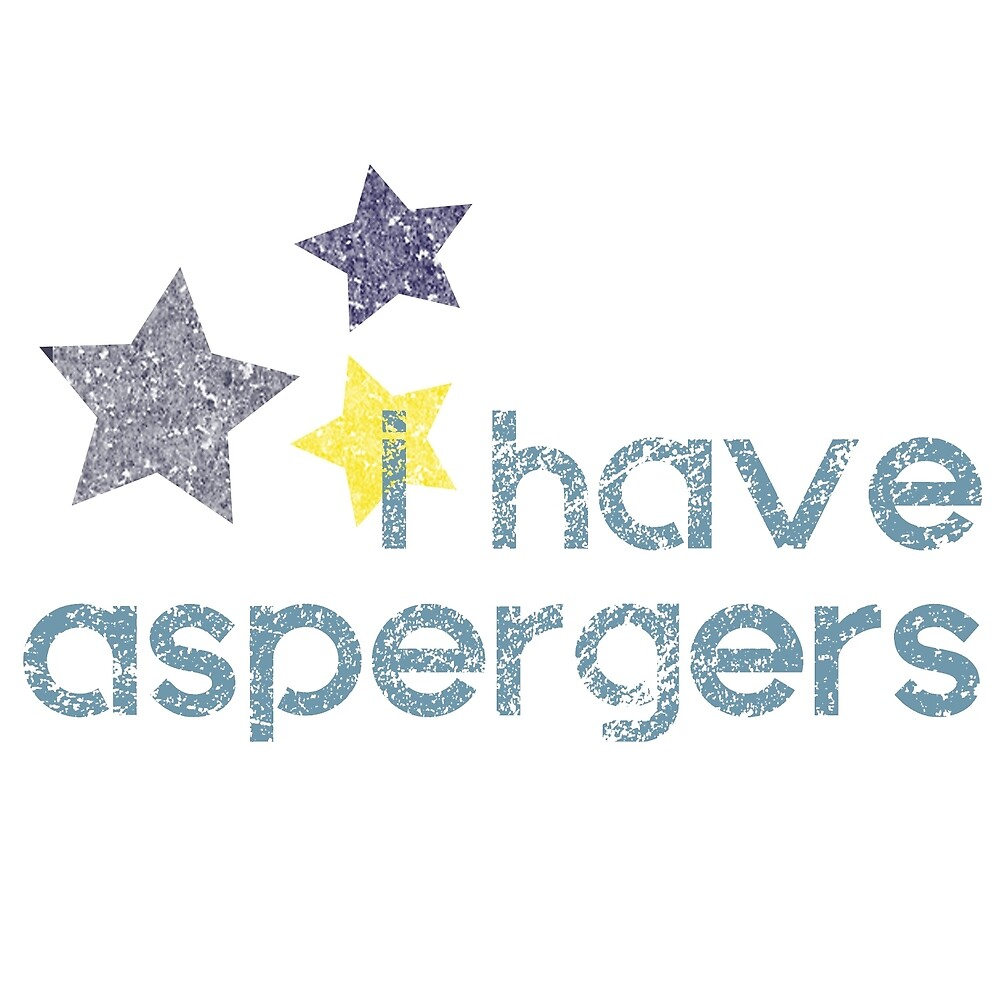 I have Aspergers Stars Awareness by crayonista