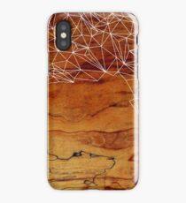 Wooden Wireframe iPhone Case/Skin