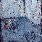 Gray Grunge Abstract by peaceofpistudio