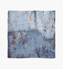 Gray Grunge Abstract Scarf