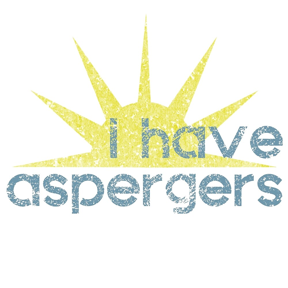 I have Aspergers Sunshine by crayonista