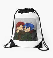 Winter Jerza Drawstring Bag