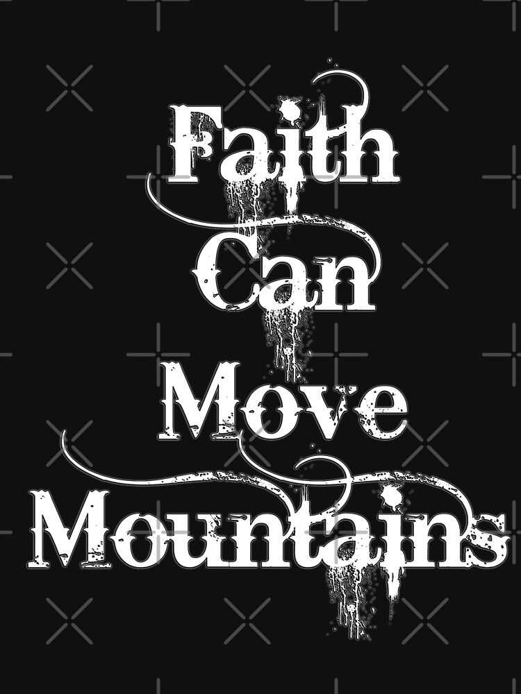 Faith can move mountains by yakoo21