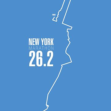 New York Marathon route. by Confundo