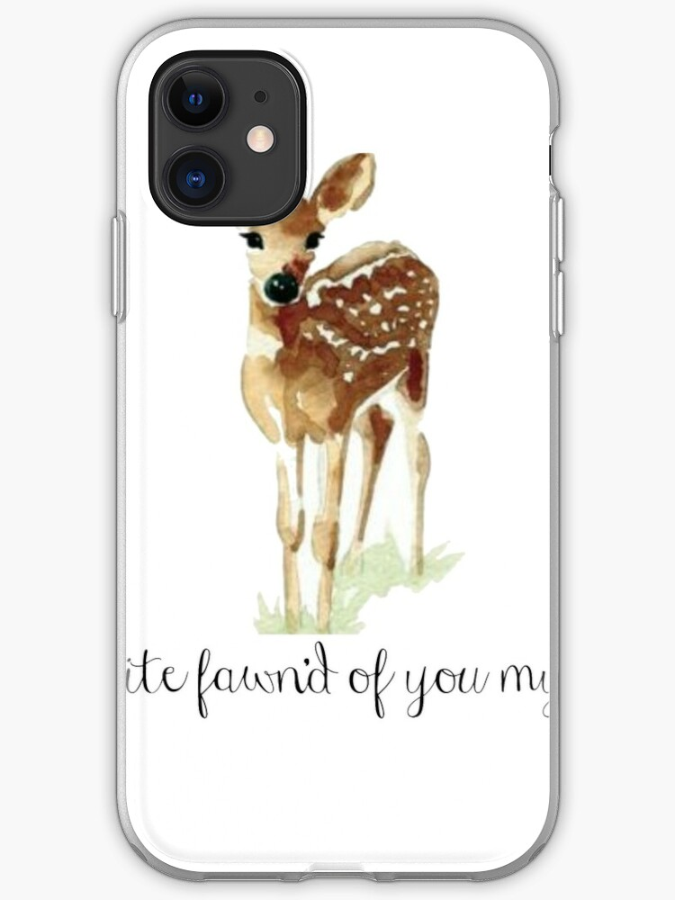 Fawn iPhone 11 case