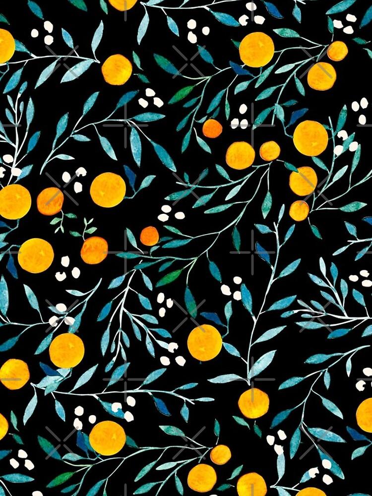 Oranges on Black by artiisan