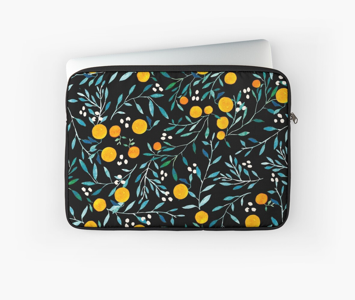 Oranges on Black by Iisa Mönttinen