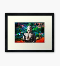 Buddha dream Framed Print
