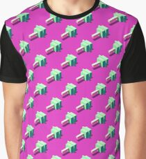 Isometric cubic lollipops seamless pattern. Graphic T-Shirt